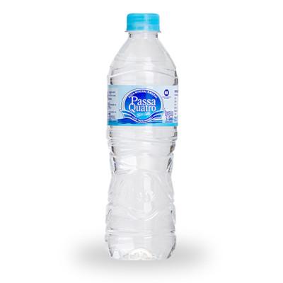 Água mineral natural 500/510ml Passa Quatro pet UN