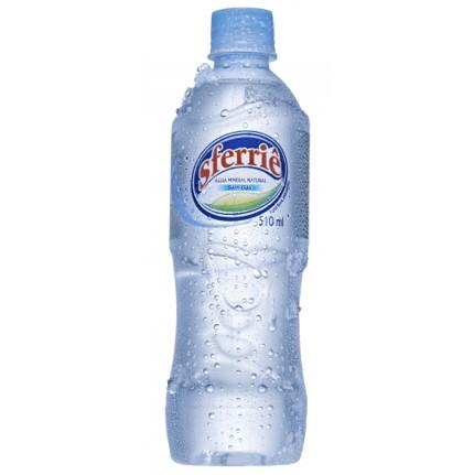 Água mineral natural 500/510ml Sferriê pet UN