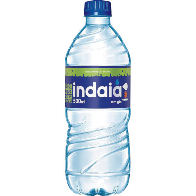 Água mineral Natural  500ml Indaiá pet UN