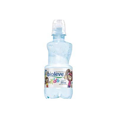 Água mineral natural 250ml Bioleve/Kids pet azul UN