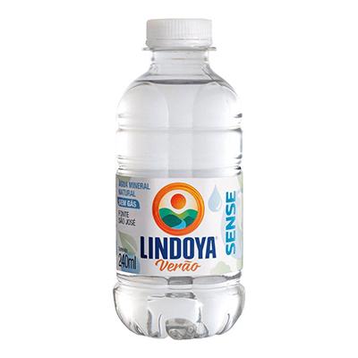 Água mineral natural sense 240ml Lindoya Verão pet UN