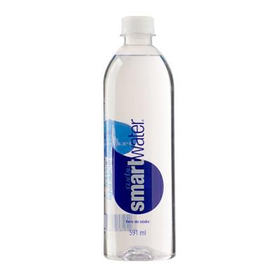 Água mineral natural zero sódio 591ml Smart Water pet UN