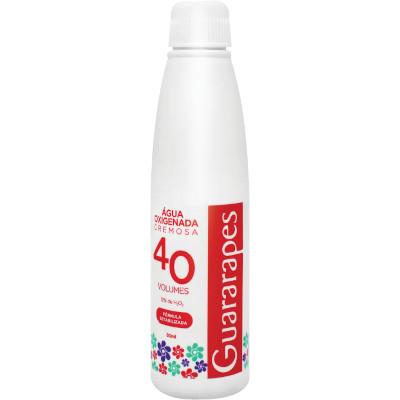 Água Oxigenada  40 volumes 80ml  Guararapes   UN