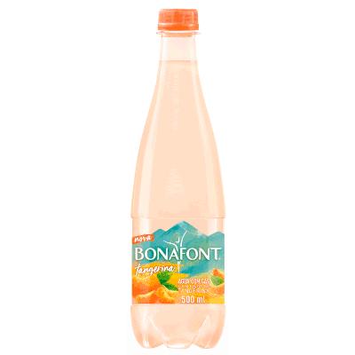 Água saborizada tangerina com gás 1,270Litros Bonafont pet UN