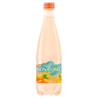Água saborizada tangerina com gás 500ml Bonafont pet UN