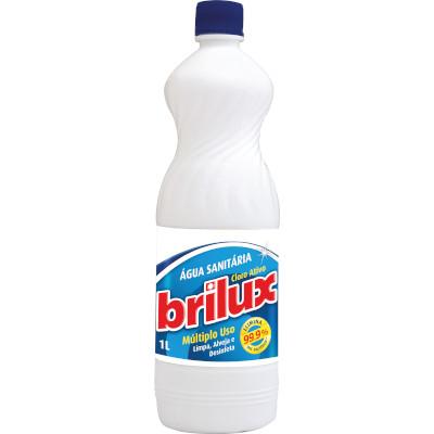 Água Sanitária  1Litro  Brilux  frasco FR