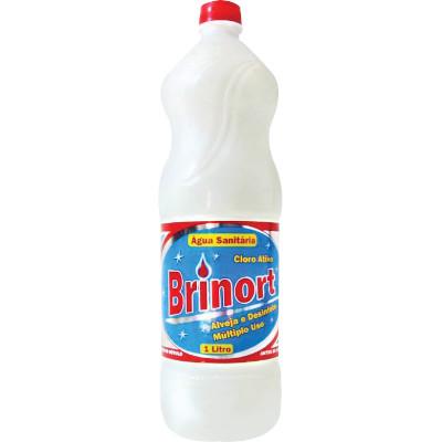 Água sanitária  1Litro Brinort frasco FR