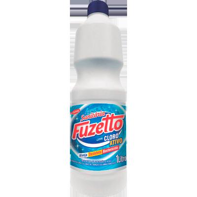 Água sanitária  1Litro Fuzetto frasco FR
