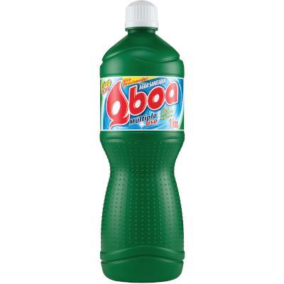 Água Sanitária  1Litro Qboa frasco FR