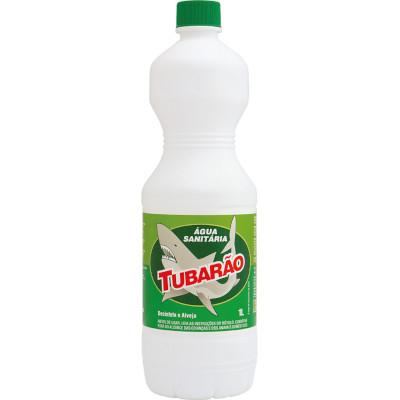 Água sanitária  1Litro Tubarão frasco FR
