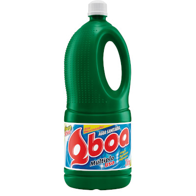 Água sanitária  2Litros Qboa frasco FR