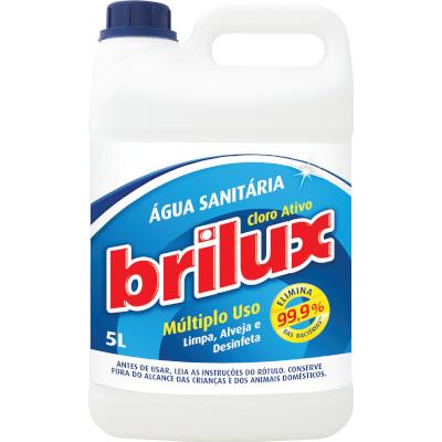Água Sanitária  5 Litros  Brilux  galão GL