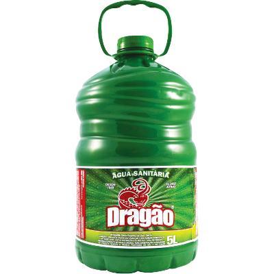 Água Sanitária  5Litros  Dragão galão GL
