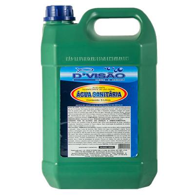 Água sanitária  5Litros D'Visão galão GL