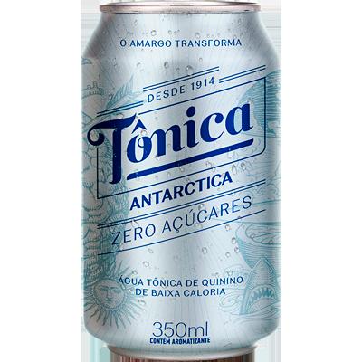 Água Tônica zero 350ml Antarctica lata UN