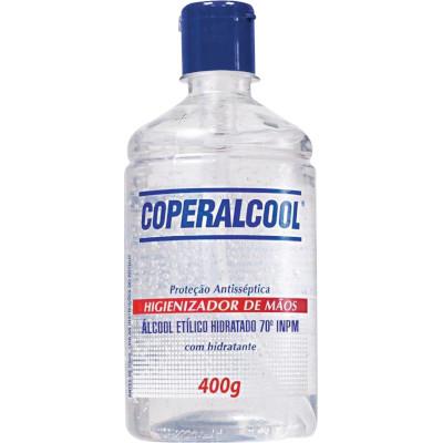 Álcool em Gel Antisséptico 70° com Hidratante 400g Coperalcool pote POTE
