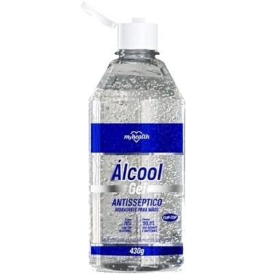 Álcool em Gel Antisséptico 70° 430g My Health frasco FR