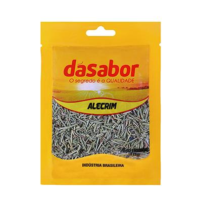 Alecrim desidratado 10g DáSabor pacote PCT
