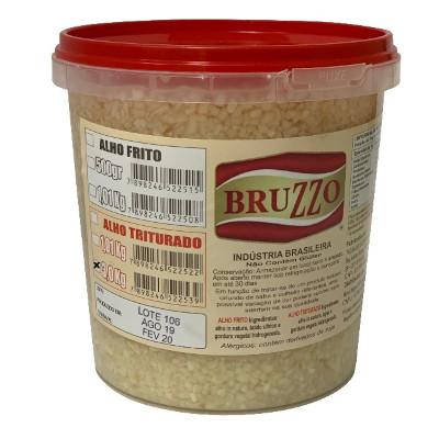 Alho triturado  balde de 3 a 4kg Bruzzo por Kg KG
