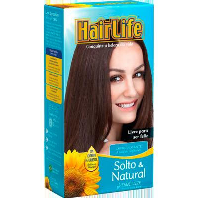 Alisante capilar solto natural 160g Hair Life  UN