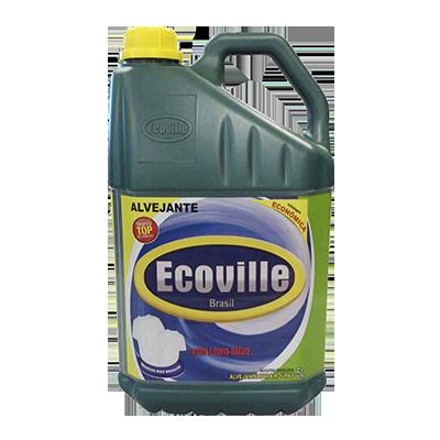 Alvejante com cloro 5Litros Ecoville galão GL