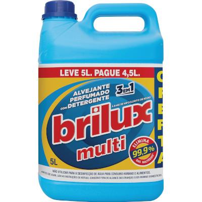 Alvejante  Multiuso 5Litros  Brilux  galão  GL
