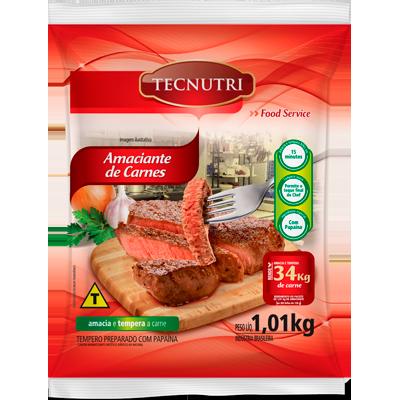 Amaciante de Carnes  1,01kg Tecnutri pacote PCT