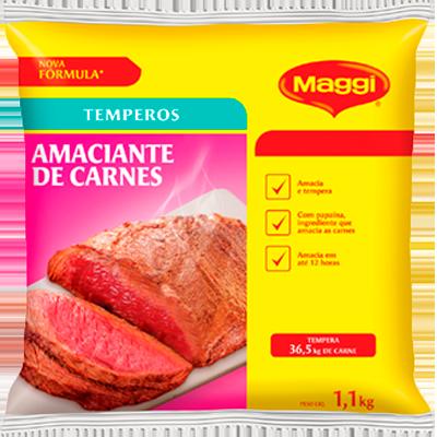 Amaciante de Carnes  1kg Maggi pacote PCT