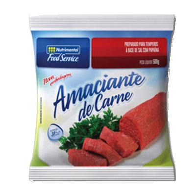 Amaciante de Carnes  500g Nutrimental pacote PCT