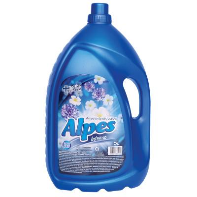 Amaciante de roupas Azul 5Litros Alpes galão GL