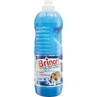 Amaciante de roupas Novo Amanhecer Azul 2Litros Brinort frasco FR