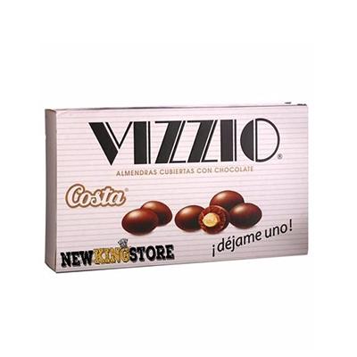 Amêndoa confeitada com chocolate 72g Vizzio pacote PCT