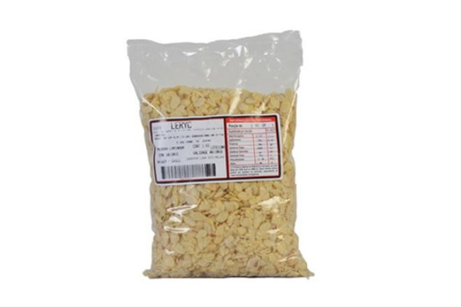 Amêndoa laminada 1kg Leryc pacote PCT