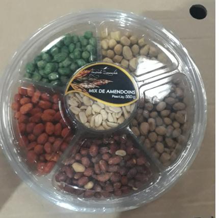 Amendoim apertitivo 550g Fazenda Samambaia pacote PCT
