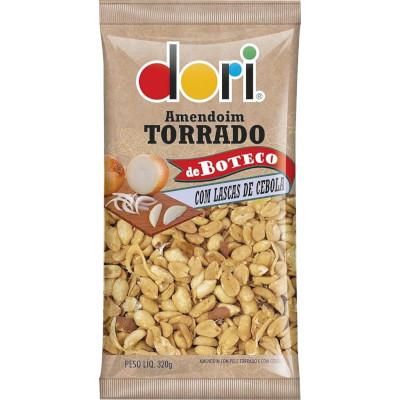 Amendoim Boteco com Cebola 320g Dori pacote PCT