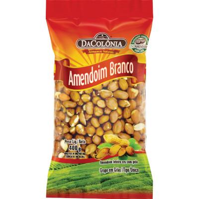 Amendoim Branco  400g DaColônia pacote PCT