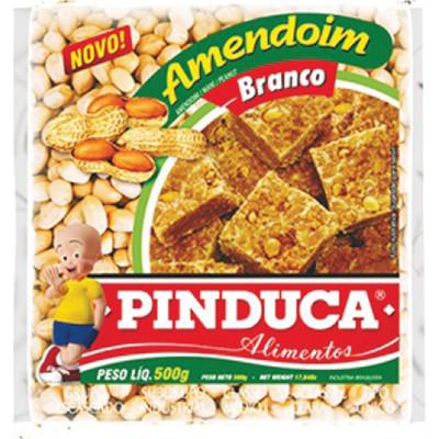 Amendoim Branco 500g Pinduca pacote UN