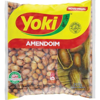 Amendoim Branco 500g Yoki pacote UN