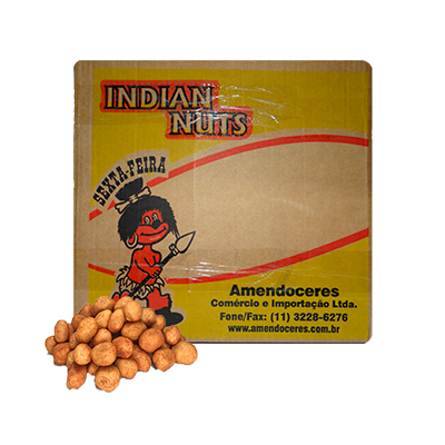 Amendoim crocante japonês por kg Diversas caixa KG