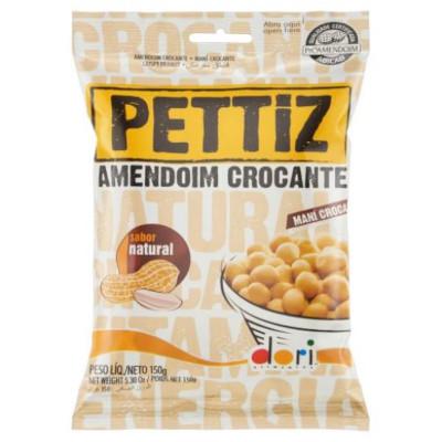 Amendoim crocante natural 150g Dori/Pettiz pacote PCT