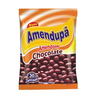 Amendoim doce confeitado 500g Amendupã pacote PCT