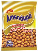 Amendoim japonês 1,01kg Amendupã pacote PCT