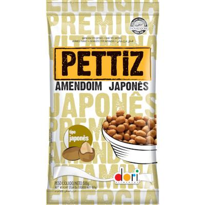 Amendoim japonês 500g Dori/Pettiz pacote PCT