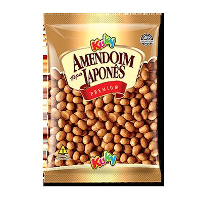 Amendoim japonês 500g Kuky pacote PCT
