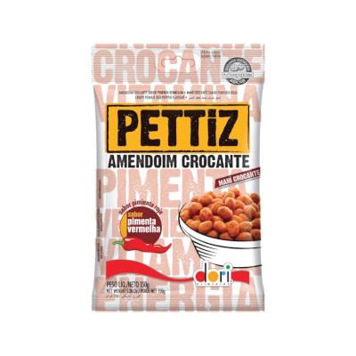 Amendoim sabor pimenta vermelha 500g Dori/Pettiz pacote PCT