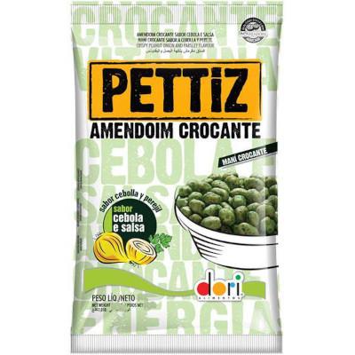 Amendoim sabor salsa e cebola 150g Dori/Pettiz pacote PCT