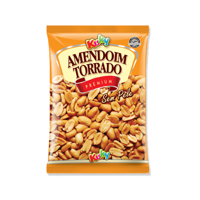 Amendoim sem casca 90g Kuky pacote UN