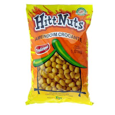 Amendoim tradicional 1kg HittNuts pacote UN