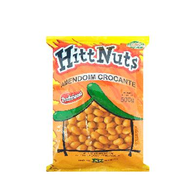 Amendoim tradicional 500g HittNuts pacote UN