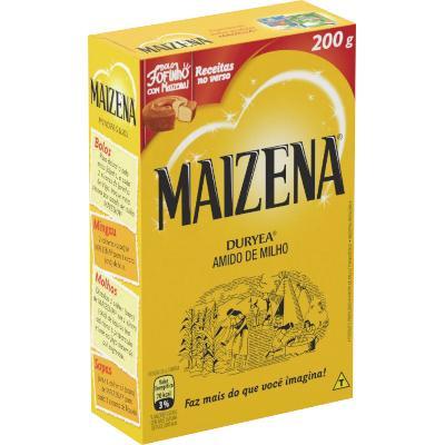 Amido de Milho  200g Maizena caixa CX